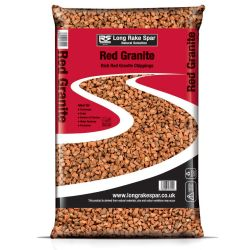 Red Aggregate Gravel - 20mm / 20kg bag
